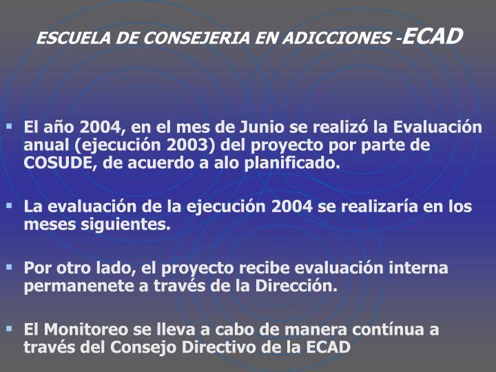 ESCUELA DE CONSEJERIA EN ADICCIONES