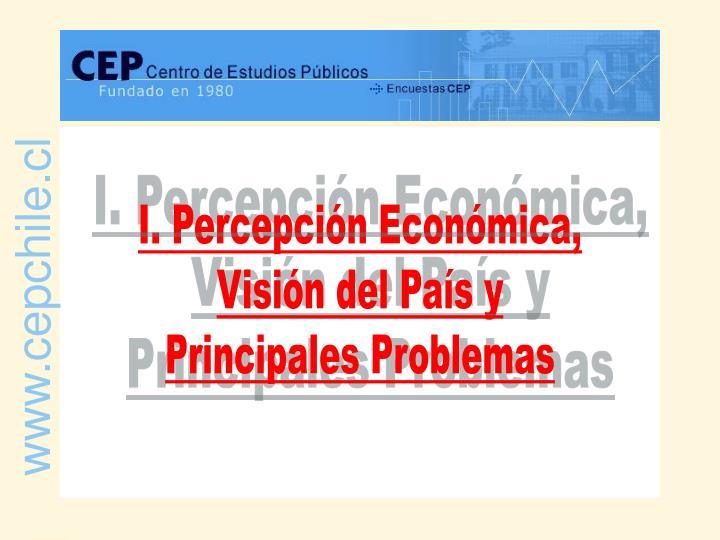 I. Percepción Económica,