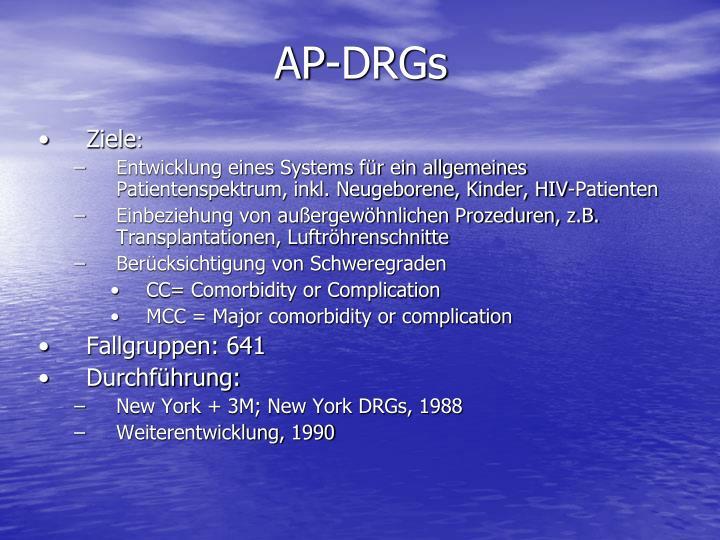 AP-DRGs