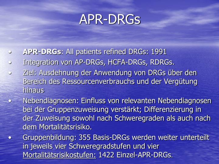 APR-DRGs