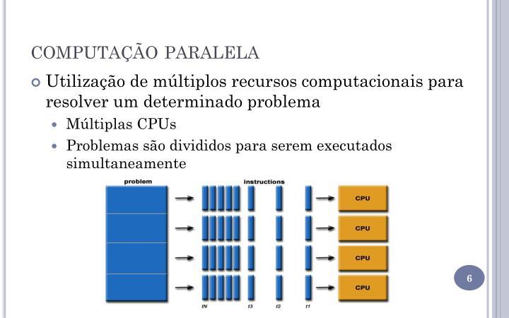 computação paralela