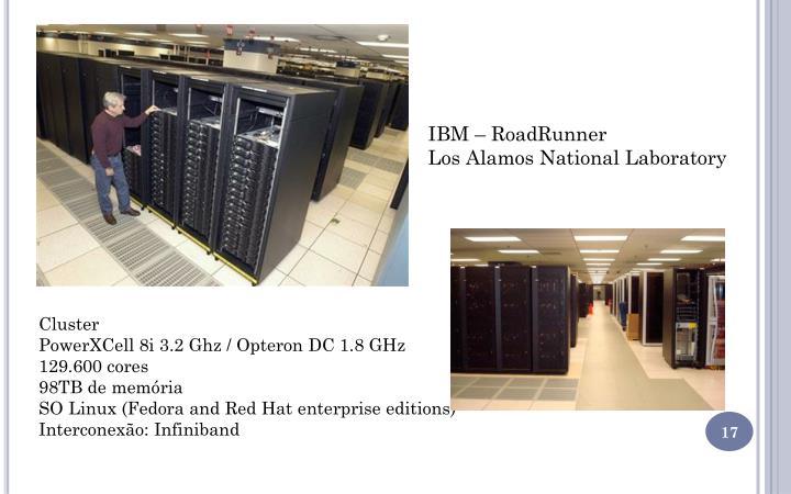 IBM – RoadRunner