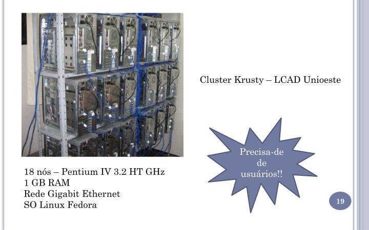 Cluster Krusty – LCAD Unioeste