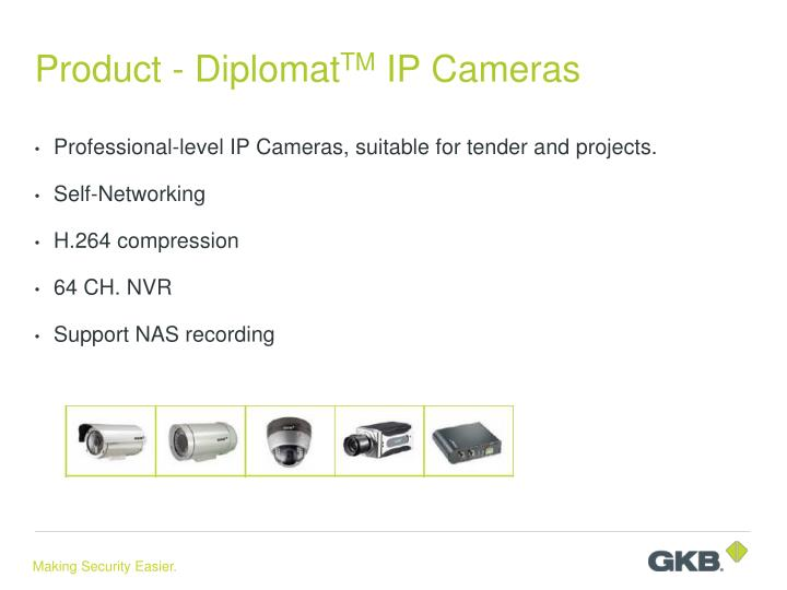 Product - Diplomat