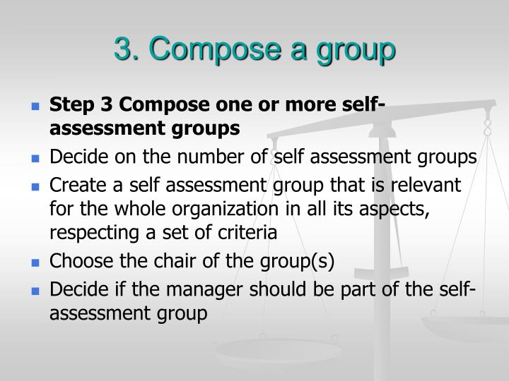 3. Compose a group