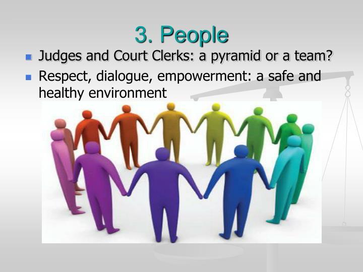 3. People