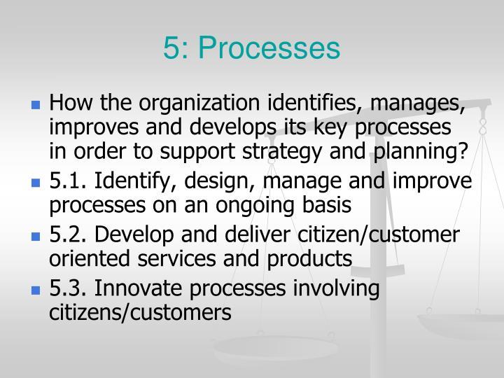 5: Processes