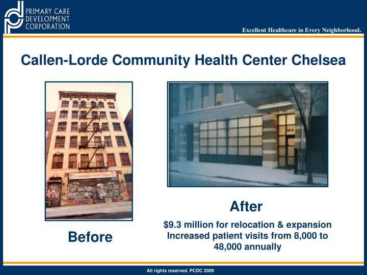 Callen-Lorde Community Health Center Chelsea