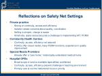 reflections on safety net settings