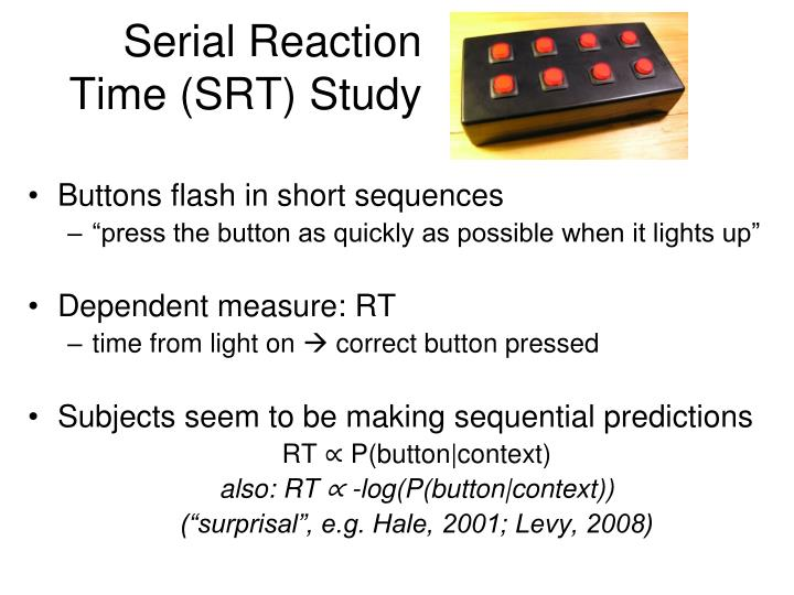 Serial Reaction