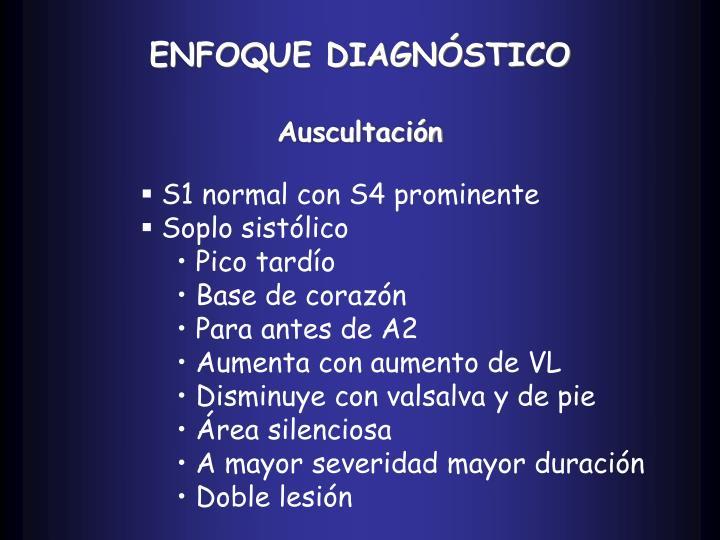 ENFOQUE DIAGNÓSTICO