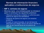normas de informaci n financiera aplicables a instituciones de seguros10