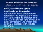 normas de informaci n financiera aplicables a instituciones de seguros13