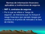 normas de informaci n financiera aplicables a instituciones de seguros2