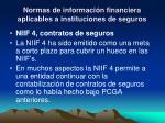 normas de informaci n financiera aplicables a instituciones de seguros3