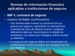 normas de informaci n financiera aplicables a instituciones de seguros5
