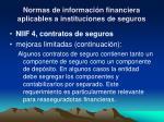 normas de informaci n financiera aplicables a instituciones de seguros7