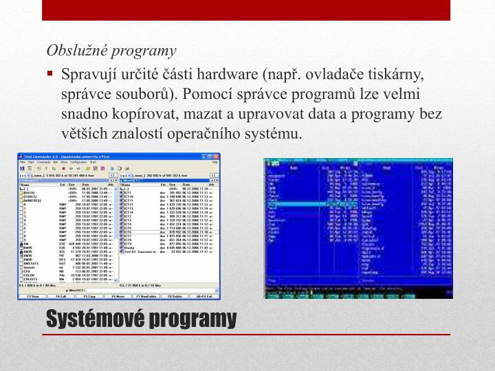 Obslužné programy