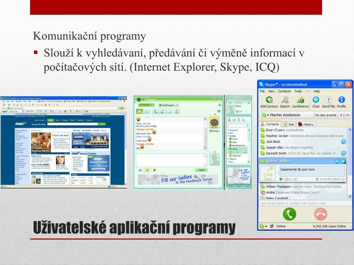 Komunikační programy