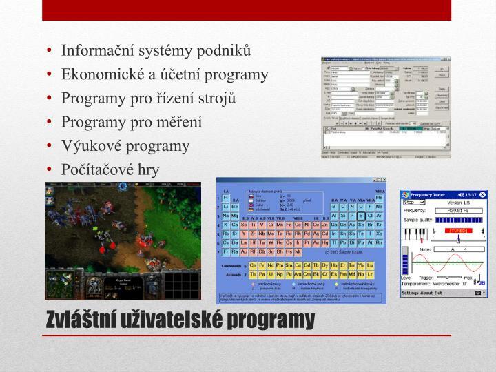 Informační systémy podniků