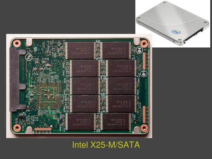 Intel X25-M/SATA