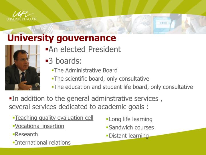 University gouvernance