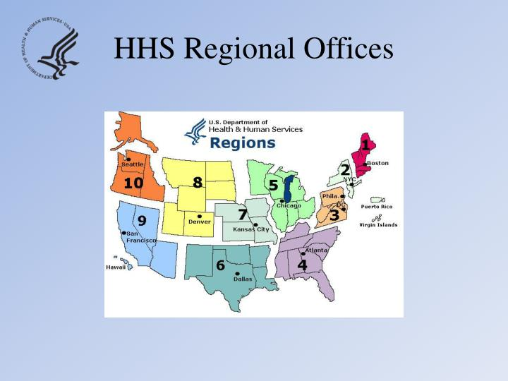 HHS Regional Offices