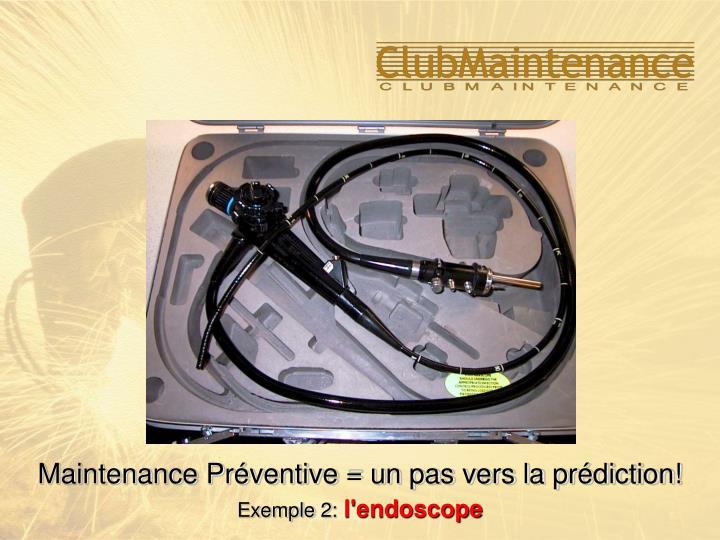 Maintenance Préventive = un pas vers la prédiction!