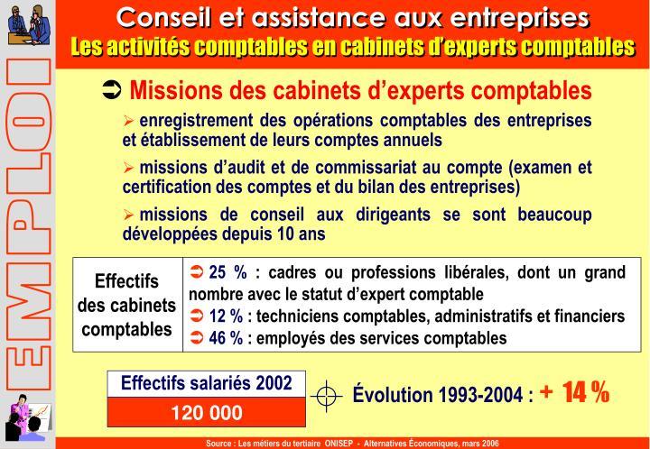 Conseil et assistance aux entreprises