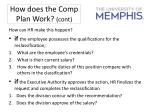 how does the comp plan work cont2