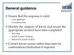 general guidance2