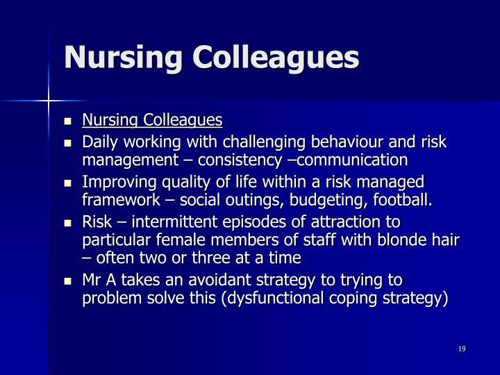 Nursing Colleagues