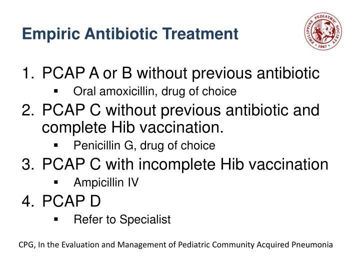 Empiric Antibiotic