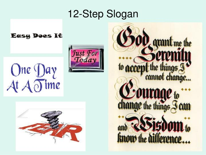 12-Step Slogan