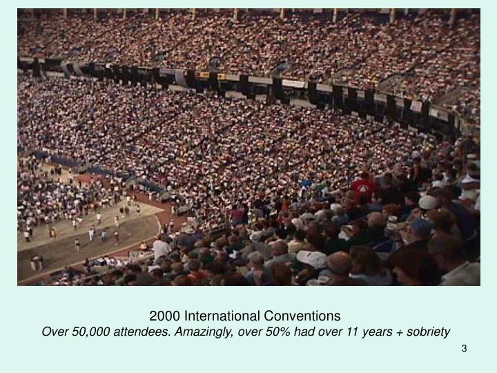 2000 International Conventions