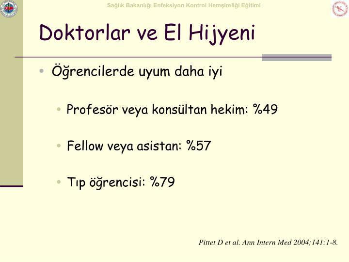 Doktorlar ve El Hijyeni