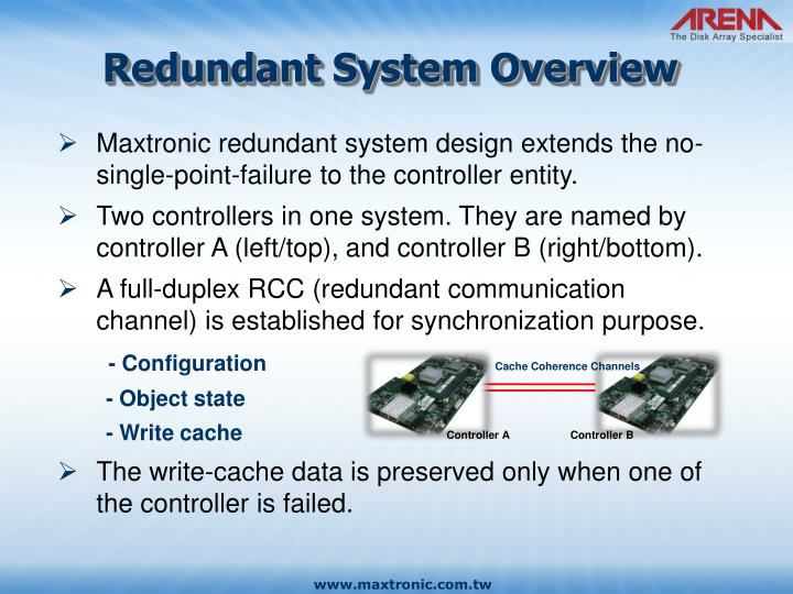Redundant System Overview