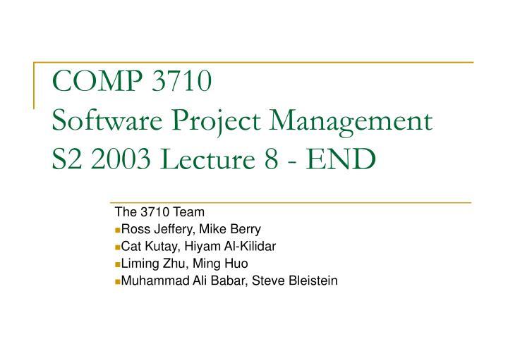 COMP 3710