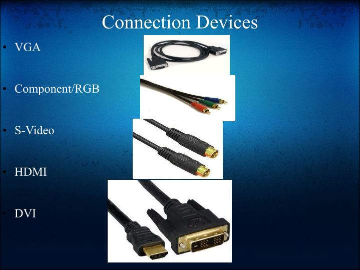 Connection Devices