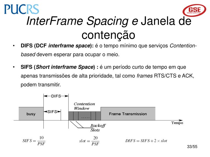 InterFrame Spacing e