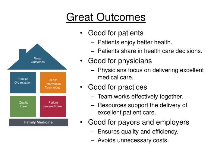 Great Outcomes