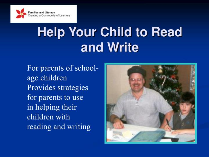 Help Your Child to Read
