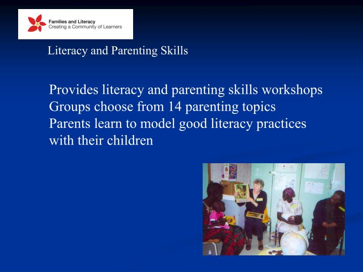 Literacy and Parenting Skills