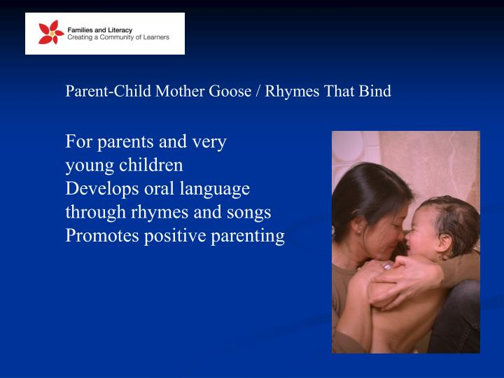 Parent-Child Mother Goose / Rhymes That Bind