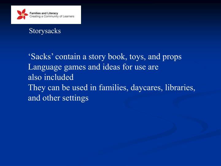Storysacks