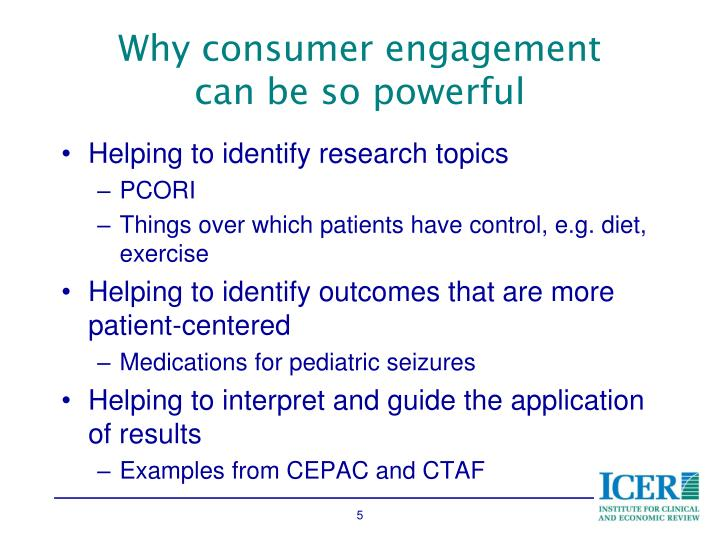 Why consumer engagement