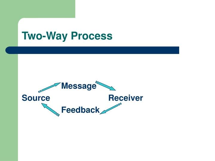 Two way process