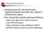 infrastructure acls1