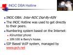 inoc dba hotline