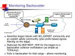 monitoring backscatter